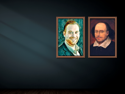 Van Gogh and Shakespeare in song